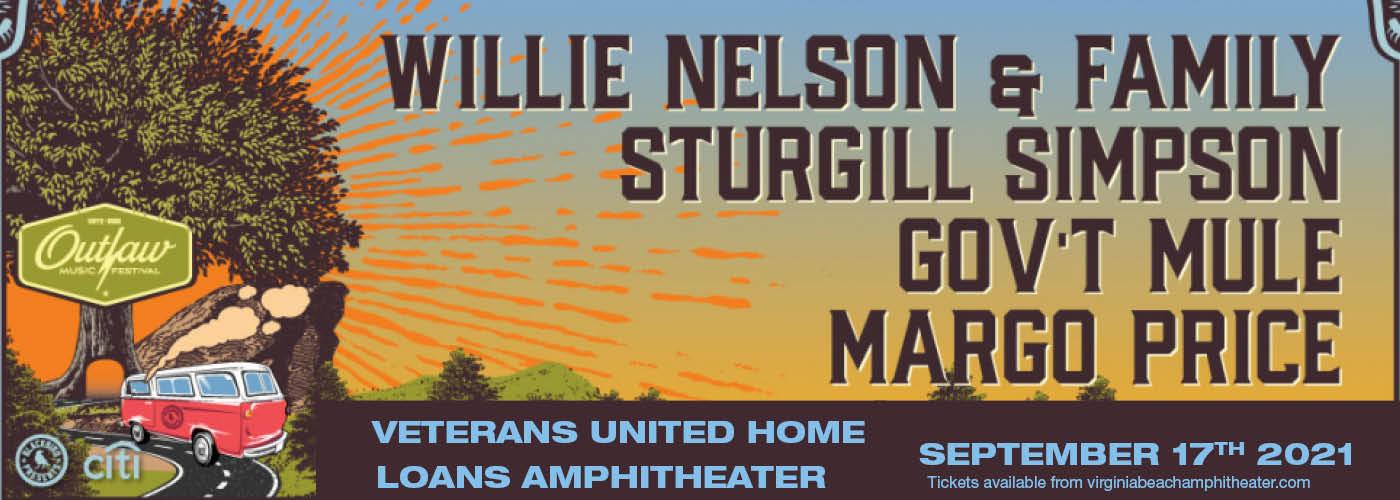 Outlaw Music Festival: Willie Nelson, Sturgill Simpson, Gov't Mule & Margo Price at Veterans United Home Loans Amphitheater