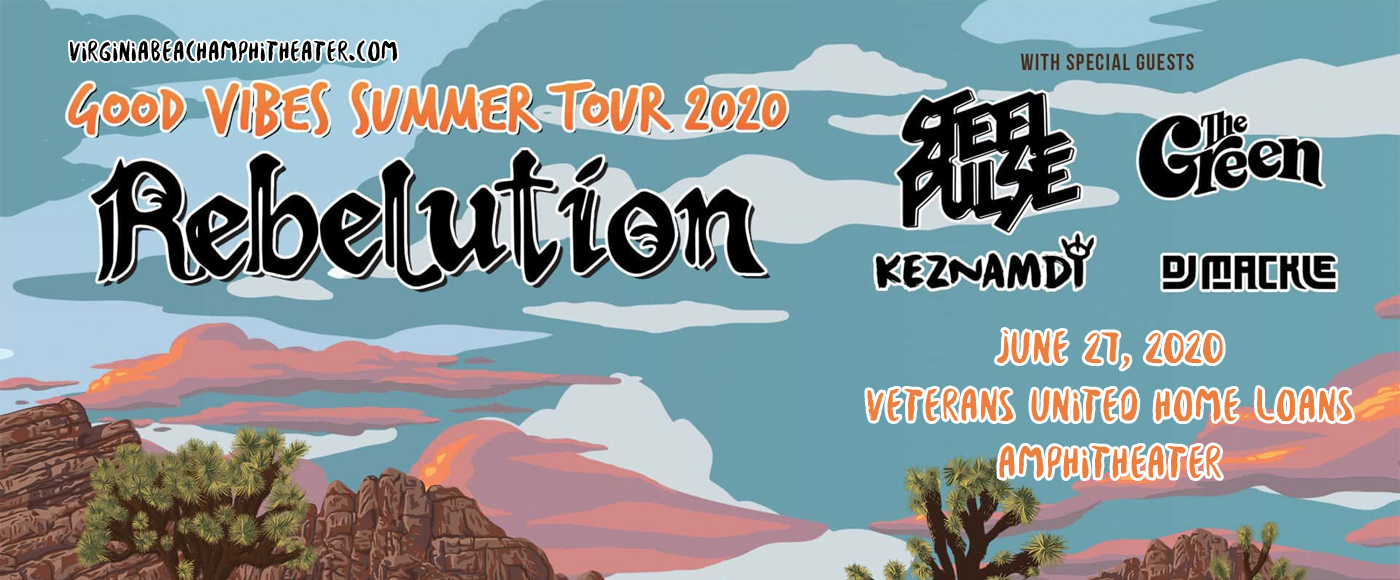 Rebelution [CANCELLED] at Veterans United Home Loans Amphitheater
